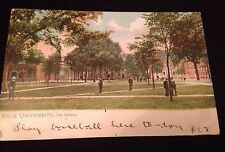 Vintage Yale Campus Postcard By Raphael Tuck & Sons Postmarked 1907 Ivy League