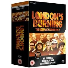 LONDON'S BURNING  Series 1-7 - Complete  20-Disc Set New  66 Episodes Fast Post