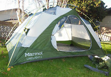 MARMOT LIMELIGHT 2P TENT, 2-PERSON, 3-SEASON w/ FOOTPRINT, GREAT CONDITION