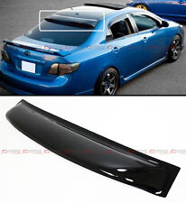 2008-2013 TOYOTA COROLLA JDM SMOKE TINTED REAR ROOF AERO RAIN SUN WINDOW VISOR