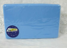Yoga Block Blue Brick Sports Exercise Fitness Gym Workout Stretching