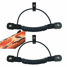 2 Side Mount Handle Kayak Carry Handle w/Paddle Park Bungee J Hooks