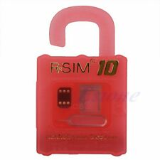 10 RSIM Nano R-SIM Cloud Card For iPhone 4S 5 5S 5C 6 Plus 2G 3G 4G LTE iOS 8.x