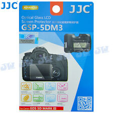 JJC Tempered Glass LCD Screen Protector Guard fr Canon 5D MARK III 5DM3 5DS 5DSR