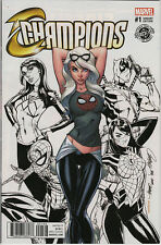 DECOMIXADO CHAMPIONS 1 COLOR EXCL J SCOTT CAMPBELL MARVEL AMAZING SPIDER-MAN 18