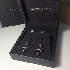 Georg Jensen Sterling Silver Earrings #241 FORGET ME KNOT by Vivianna Torun