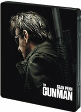 THE GUNMAN (Sean Penn, Idris Elba) Blu-ray Disc, Steelbook NEU+OVP