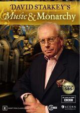 David Starkey's Music & Monarchy (DVD, 2015, 2-Disc Set)