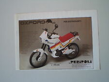 advertising Pubblicità 1988 MOTO PERIPOLI OXFORD 50