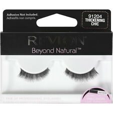REVLON BEYOND NATURAL FALSE EYE LASH EYELASHES EYELASH THICKENING CHIC 91204