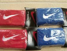 NIKE Set of Four(4)pairs of  Swoosh Tennis  Wristbands, Double-Wide size
