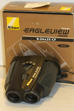 NIKON    eagleview  ZOOM 8-24x25   BINOCULARS    NICE VIEW OUT