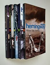 Ernest Hemingway 5 Books Fiction Winner Take Nothing Fiesta Across the River New