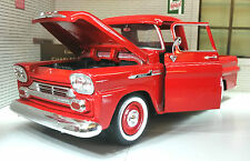 G LGB 1:24 Scale 1958 Chevrolet Apache Fleetline Pickup Diecast V Detailed Model