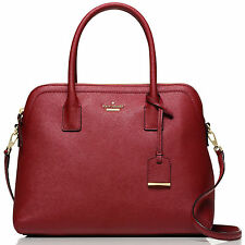 Kate Spade Cameron Street Margot Train Car Red Satchel Shoulder Crossbody Bag