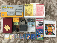 Nintendo Famicom Disk System FDS Complete in Box CIB + 6 Games, New Belt, Works!