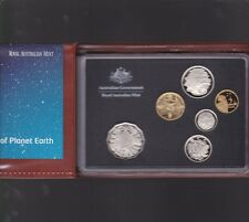 2008 Australia Proof Coin Set in Folder with outer Box & Certificate