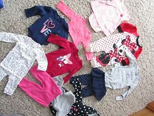 NEW  LOT /11 BABY GIRL CLOTHING CARTERS DISNEY SETS OUTFITS 6 MONTH FREE SHIP
