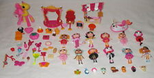 LaLaloopsy Lot 12 Mini Dolls Animals & Accessories Pony Sets Over 50 Pieces