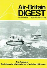 AIR-BRITAIN DIGEST SEP 85: CANADAIR CL-215/ DAUPHIN 2/ DUNLOP AVIATION/ DELTA