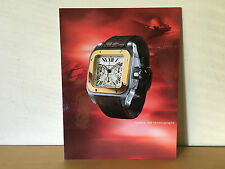 Used - Display expositor CARTIER - Photo Santos 100 chrono  - 35 x 27 cm - Usado