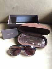 TOM FORD SERGIO FT 0379 (01A I) 60-14-140 ORIGINAL SUNGLASSES