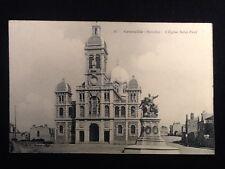 Carte postale ancienne Granville  (Manche) L' Eglise Saint-Paul