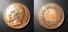 """Napoléon III - médaille """"Comité central de Sologne - 25 Juin 1859 par Barre"""