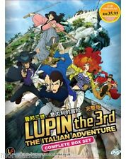 DVD LUPIN THE 3RD :THE ITALIAN ADVENTURE VOL:1-24END