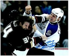Los Angeles Kings KYLE CLIFFORD Signed Autographed 8x10 Pic E