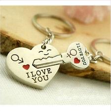 Socios llavero amor compromiso I Love You corazón clave amiga nuevo