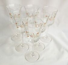 Eternal Beau Wine Glasses x 6 Johnson Brothers