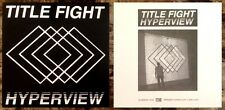 TITLE FIGHT Hyperview 2015 Ltd Ed New RARE Sticker +FREE Punk Rock Stickers Lot!