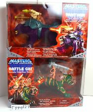 MOTU, Battle Cat & Panthor, Masters of the Universe 200x, MISB, MOC, sealed, MIB