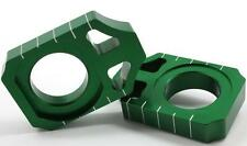 WORKS AXLE BLOCKS KX450F '16 GREEN W ORKS CONNECTION (17-129)