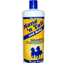 12 oz MANE N TAIL and Body SHAMPOO Shampooing Straight Arrow People Horses Hair