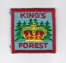 SCOUT OF CANADA - CANADIAN SCOUTS ONTARIO (ONT) KING'S FOREST DISTRICT Patch