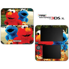 Sesame Street Elmo Cookie Monster for New Nintendo 3DS XL Skin Decal Cover
