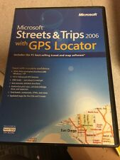 Microsoft Streets and Trips 2006 With GPS Locator