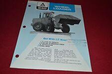 Allis Chalmers 940 Wheel Loader Dealers Brochure DCPA6 Ver3