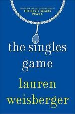 The Singles Game, Weisberger, Lauren, New Book