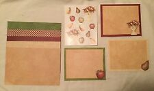 NEW Creative Memories Croptoberfest Country Orchard Paper Stickers Photo Mats