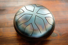 Akebono Trommel HandPan Drum Steel Hank Tongue  Handmade Stahl   2 Sticks