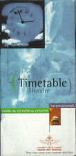 Royal Air Maroc system timetable 10/25/98 [5074] Buy 2 get 1 free