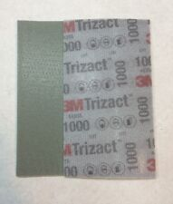 3M 51260 Trizact Feuille Abrasive Hookit Flexible P1000 - 80 x 140 mm