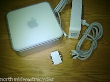 Apple A1176  Mac Mini  120GB WIFI Bluetooth COM Power Adapter