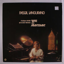PASCAL LANGUIRAND: Vivre Ici Maintenant LP (Canada, small toc, slight corner be