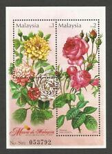 Malaysia 2003 'Roses In Malaysia' MS In Superb Mint Condition