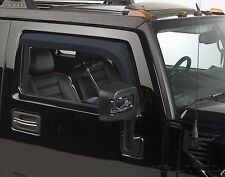 Tinted Window Visors Shade Fits 2003-2009 Hummer H2 (2PC. Front)