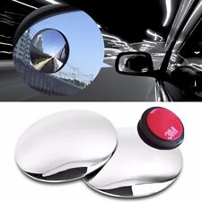 Plus Slim Circle Blind Spot Mirror SL Lens 50.8mm With Angle Bracket for Vehicle